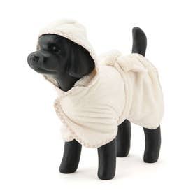 【WEB限定Lサイズ】【DOG】DRY DRY DRYバスローブ 【返品不可商品】 (ホワイト(10))