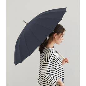 【晴雨兼用】【Wpc.】16本骨ソリッドアンブレラ (ネイビー(40))