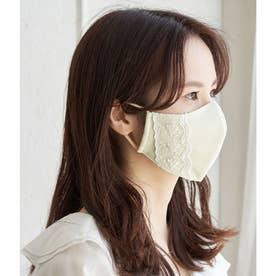 【Beauty Mask】サイドレースカラーマスク 【返品不可商品】(キナリ(16))