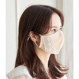 【Beauty Mask】サイドレースカラーマスク 【返品不可商品】(ベージュ系(28))