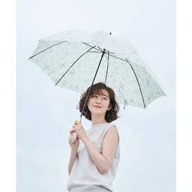 【晴雨兼用】【Wpc.】ラインレースフラワーアンブレラ (オフホワイト(15))
