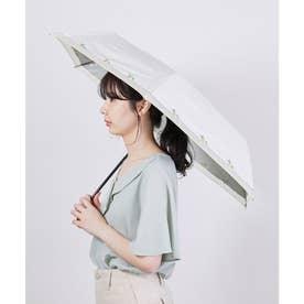 【晴雨兼用】【Wpc.】遮光レモン刺繍ミニアンブレラ (オフホワイト(15))