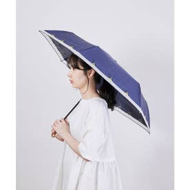 【晴雨兼用】【Wpc.】遮光レモン刺繍ミニアンブレラ (ネイビー(40))