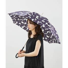 【晴雨兼用】【Wpc.】ハナプリントアンブレラ (ネイビー(40))