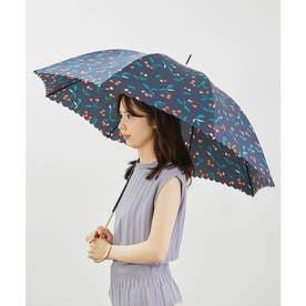 【晴雨兼用】【Wpc.】チェリーアンブレラ (ネイビー(40))