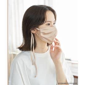 【ガンバレルーヤ×ROPE' PICNIC】サテンタックデザインマスク【返品不可商品】 (ピンク(63))