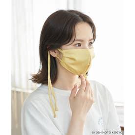 【ガンバレルーヤ×ROPE' PICNIC】サテンタックデザインマスク【返品不可商品】 (イエロー(80))
