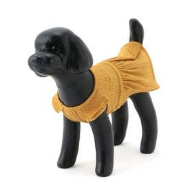 DOG ギャザーワンピース (イエロー系(81))