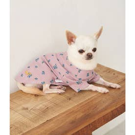 DOG ワッフルフラワーカットソー 【返品不可商品】(ピンク(63))