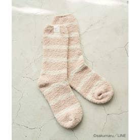 【うさまる×ROPE' PICNIC】マシュマロタッチルームソックス (ピンク(63))