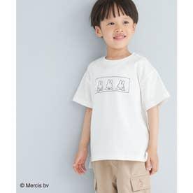 【KIDS】【miffy×ROPE' PICNIC】半袖Tシャツ (ホワイト系(11))