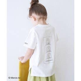 【KIDS】【miffy×ROPE' PICNIC】半袖Tシャツ (オフホワイト(15))