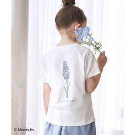 【KIDS】【miffy×ROPE' PICNIC】半袖Tシャツ (サックス(48))
