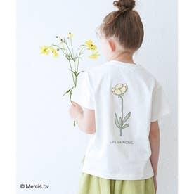 【KIDS】【miffy×ROPE' PICNIC】半袖Tシャツ (イエロー(80))