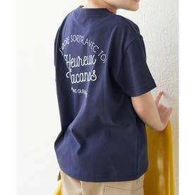 【KIDS】マリン調ロゴTシャツ (ネイビー(40))