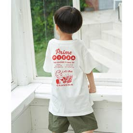 【Prime PIZZA ×ROPE' PICNIC】ビッグTシャツ (レッド系(61))