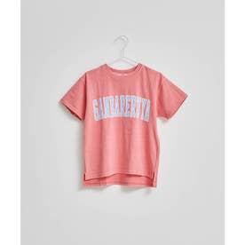【KIDS】【ガンバレルーヤ×ROPE' PICNIC】カレッジロゴTシャツ (ピンク(63))