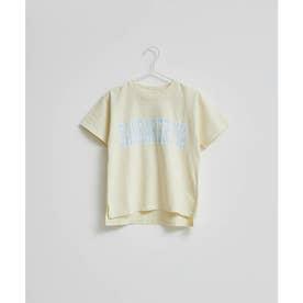 【KIDS】【ガンバレルーヤ×ROPE' PICNIC】カレッジロゴTシャツ (イエロー(80))