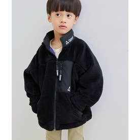 【KIDS】【GERRY/ジェリー】ボアブルゾン (ブラック(01))