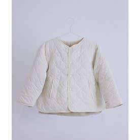 【KIDS】【武智志穂×ROPE' PICNIC】キルティングアウター (オフホワイト(15))
