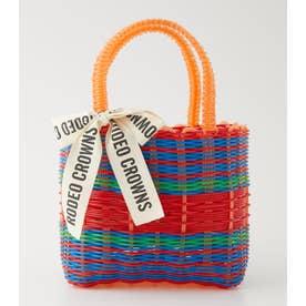 Basket bag 柄RED5