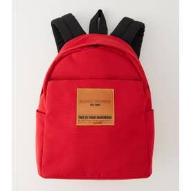Color tag back pack RED