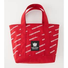スラッシュロゴMINIトートバッグ RED