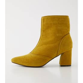 POINTED SHORT BOOTS YEL