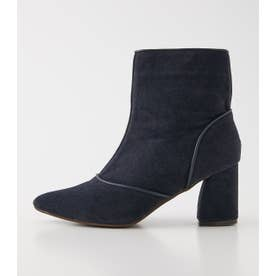 POINTED SHORT BOOTS NVY