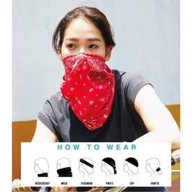 RC ACTIVE FACE COVER 柄RED5