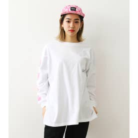 Candy L/S Tシャツ&トートバッグ WHT
