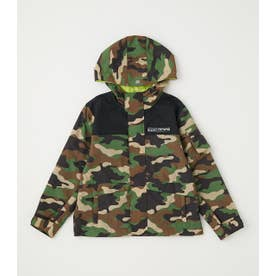 KIDS WIDE MOUNTAIN PARKA 迷彩