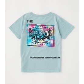 キッズTiedee patchビッグTシャツ SAX