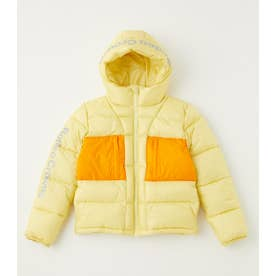 KIDS BLOCKING HOODIE JACKET L/YEL1