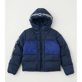 KIDS BLOCKING HOODIE JACKET NVY