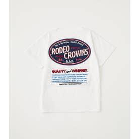 キッズ LOGO SIGNS Tシャツ WHT