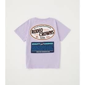 キッズ LOGO SIGNS Tシャツ L/PUR1