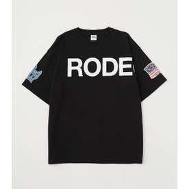 メンズSLEEVE PATCH Tシャツ BLK