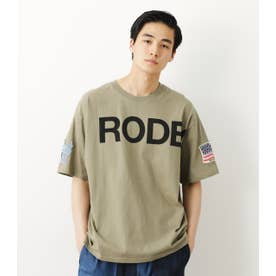 メンズSLEEVE PATCH Tシャツ KHA