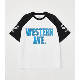 TENNIS Tシャツ WHT