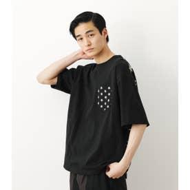 STAR Tシャツ BLK