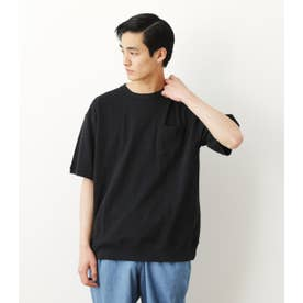 リブTシャツ BLK