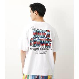 メンズアウトドアパターンポケットTシャツ WHT