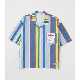 メンズDOCTOR S/Sシャツ 柄BLU5