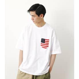 サガラポケットTシャツ WHT
