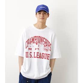 US LEAGUE Tシャツ WHT