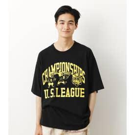 US LEAGUE Tシャツ BLK