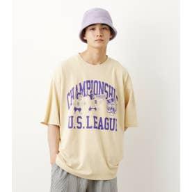 US LEAGUE Tシャツ L/YEL1