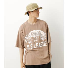 US LEAGUE Tシャツ L/BRN1