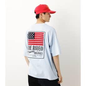 USA Tシャツ L/BLU1